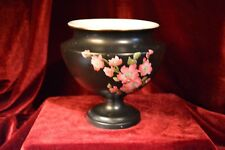 W & R Stoke on Trent Carlton Ware. Hand painted Blossom Footed Vase 1910
