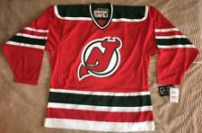 """NWT Authentic New Jersey Devils """"Christmas Tree"""" CCM Away Jersey - 52"""