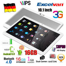 "10,1"" IPS 16GB 3G GPS Tablet PC Android 6.0 Quad Core WiFi 2*Kamera/SIM OTG Pad"