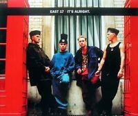 East 17 It's alright (1993, #8573792) [Maxi-CD]