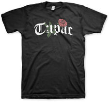TUPAC - Rose - T SHIRT S-M-L-XL-2XL Brand New Official Bravado Merchandise