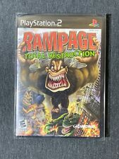 Rampage: Total Destruction Sony PlayStation 2 PS2 Black Label (NEW, SEALED)