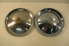 VINTAGE 1949 1950 LINCOLN MARK CONTINENTAL PREMIER TOWN CAR HUBCAPS WHEEL COVERS