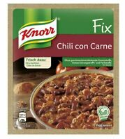 3 x Knorr Fix Chili Con Carne - New & Fresh from Germany !