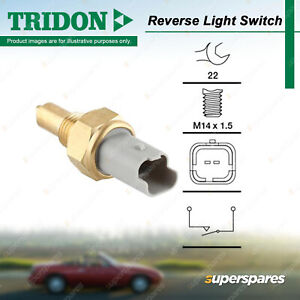 Tridon Reverse Light Switch for Peugeot 207 407 607 Expert 206 207CC 307 308 406
