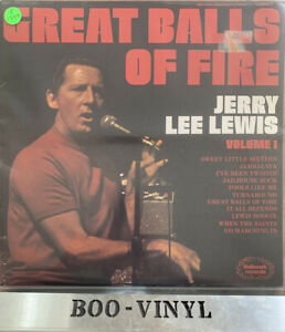 RECORD ALBUM JERRY LEE LEWIS GREAT BALLS OF FIRE VOLUME 1 EX CON