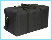 BRAND NEW 100% GENUINE GIORGIO ARMANI BLACK DUFFLE HOLDALL GYM WEEKEND BAG