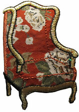 """#2760 2 3/4"""" Sofa Arm Chair Embroidery Iron On Applique Patch"""