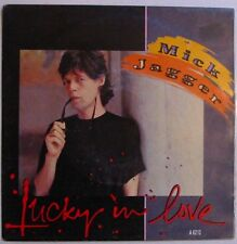 MICK JAGGER  (SP 45 Tours)    LUCKY IN LOVE