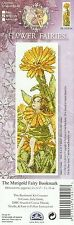 DMC FLOWER FAIRIES MARIGOLD FAIRY BOOKMARK COUNTED CROSS STITCH KIT -NEW 04/2014