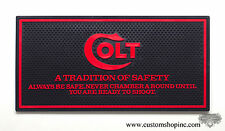 Colt Counter Mat Python Black & Red