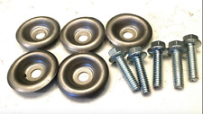 5x SKID PLATE WASHERS AND BOLTS POLARIS RZR 1000 900 800 570  XP Turbo General