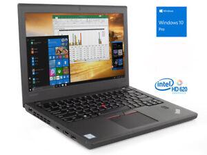 """Lenovo ThinkPad X270 i5 7300U 2.6GHz 8GB 500GB 12.5"""" Win 10 pro"""