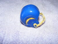 Vintage 60's 70's Gumball Machine Mini Football Helmet Chargers