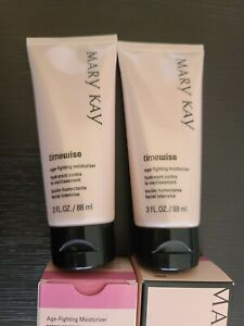 Lot of 2 Mary Kay Timewise Age Fighting Moisturizer - Normal to Dry 3 Fl. oz