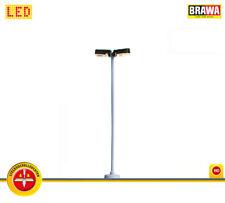 BRAWA 84061 LED-Lampada in legno palo stecksockel + NUOVO IN SCATOLA ORIGINALE 80 mm ad alta