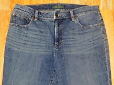 LAUREN JEANS CO RALPH LAUREN BOOT CUT BLUE JEANS WOMEN'S SIZE 14