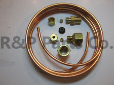 """Oil Pressure Line Kit Copper Tubing 1/8"""" OD X 6' for Willys MB Jeep Ford CJ GPW"""