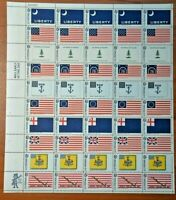 CatalinaStamps:  US Stamp #1345-54 MNH Flags, Lot B10