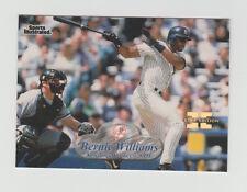 1998 FLEER SPORTS ILLUSTRATED BERNIE WILLIAMS FIRST EDITION MASTERPIECE 1/1 RARE