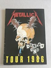 More details for metallica damage inc tour japan1986 official concert programme