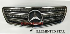 Mercedes W221 LED Illuminated Star Grille grill 2010 2013 S550 S65 light emblem