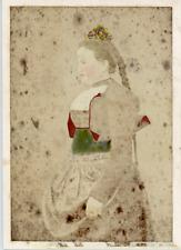 Suisse, Costume Suisse de Berne  Vintage albumen print.  Tirage albuminé aqu