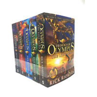 The Heroes of Olympus 5 Books Box Set Collection Set Rick Riordan | Riordan, Ric