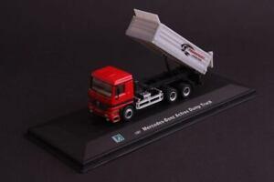 Camion 1/87 mercedes benz actros dump truck