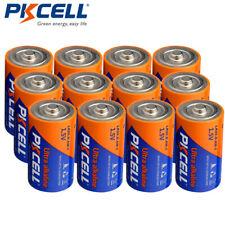 12 x D Size Batteries LR20 1.5V AM1 High Power Electric Shaver Alkaline PKCELL