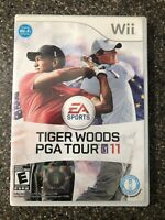 Tiger Woods PGA Tour 11 (Nintendo Wii, 2010) Clean & Tested Working - Free Ship