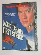 Jackie Chans First Strike (DVD, 1999) SNAPCASE  BRAND NEW  FACTORY SEALED