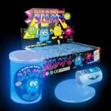 12 GLOW IN THE DARK SLIME bulk lot wholesale novelty kids toys slimy gooey fun