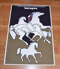 "24x36"" Cuban movie Poster 4 film Baragua.Horses race.art.LAST 1"
