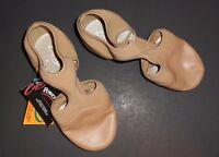 New Capezio PP323 Pedini Femme  Lyrical Dance Shoes Modern Caramel Sandal