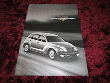 Chrysler PT Cruiser Brochure 2000 - UK Issue