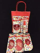 Jelly Belly Car Air Freshener RED Gift Set VERY CHERRY Scent Birthday Present