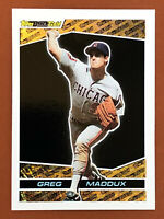 1993 Topps Black Gold Greg Maddux Card #12 MINT RARE - Cubs, Braves HOF