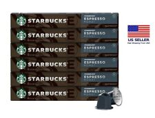 Starbucks by Nespresso Espresso Roast Coffee Capsules | 60-count