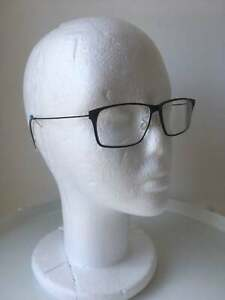 New Eyeglasses Lindberg 6507 black Titanium 56mm w demo Lens