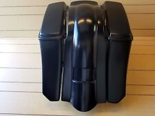 """6""""DOWN 9""""BACK EXTENDED BAGS/FENDER WITH LIDS FOR HARLEY DAVIDSON TOURING 97-2008"""