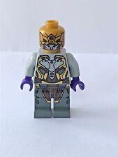 LEGO Minifig Super Hero AVENGERS GENERAL ALIEN w/ Pearl Gold Head - 6865 - NEW