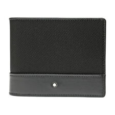 Montblanc Nightflight Black Nylon Wallet 113149
