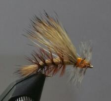 1 Dozen - Tan  Stimulator -  Dry Fly - Trout