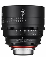 New Rokinon Xeen 50mm T1.5 Professional Cine Full Frame Lens for Canon XN50-C