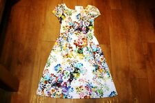 NEW&TAGS CC floral dress SIZE 10 vintage wedding 50's party prom RRP £139.00!