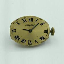 Vintage Mathey-Tissot Swiss 17 Jewel Unadjusted Movement & Dial Running