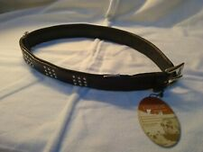 Quality Large Leather Dog Collar,By Ancol.