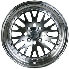 Avid1 AV12 16x8 +25 4x100 Machined Civic Integra Fit CRX Miata Yaris Corolla