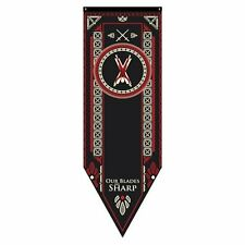 Game of Thrones * Bolton Sigil Tournament Banner * 60 x 18 Fabric Poster Print
